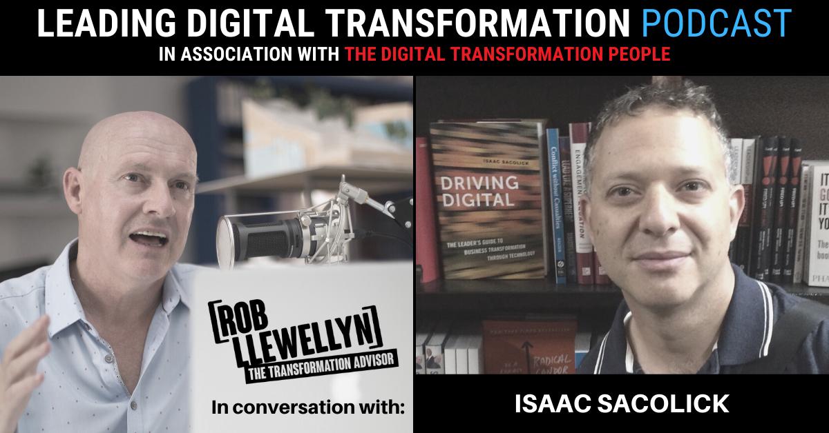 Isaac Sacolick Interviewed